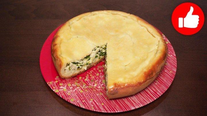Пирог с зеленым луком и яйцом в мультиварке, рецепт пирога. рецепты для мультиварки, мультиварка