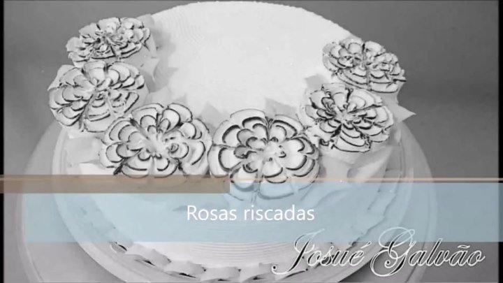 Цветок Роза с сечениями. Кондитерская насадка № 125