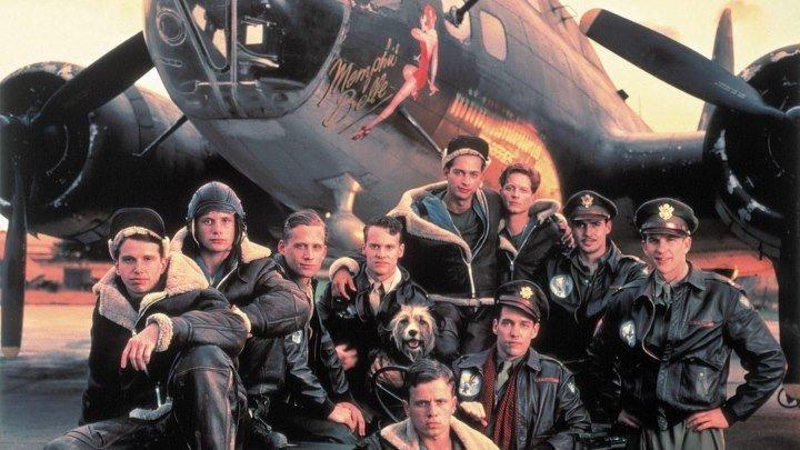боевик, драма, военный-Красавица Мемфиса.(1990).1080p