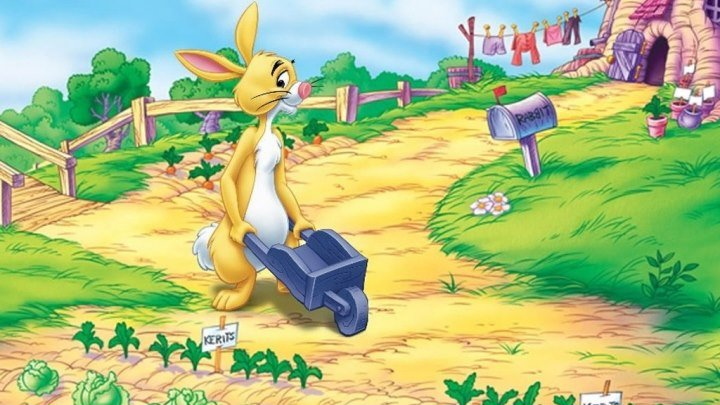 Кролик с капустного огорода Мультсериал