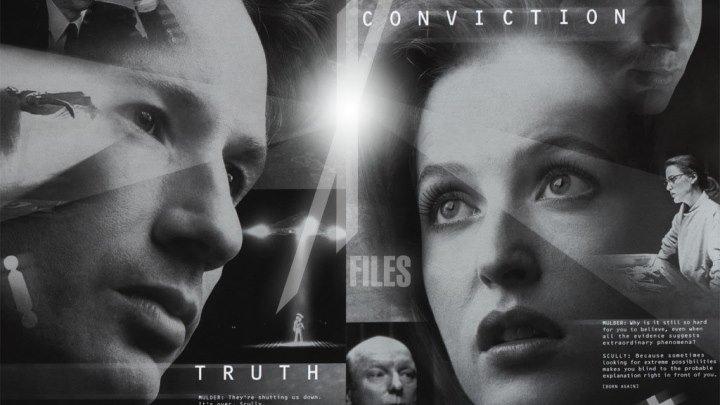фантастика, триллер-Секретные материалы [S02]16-18серии.1996.1080р