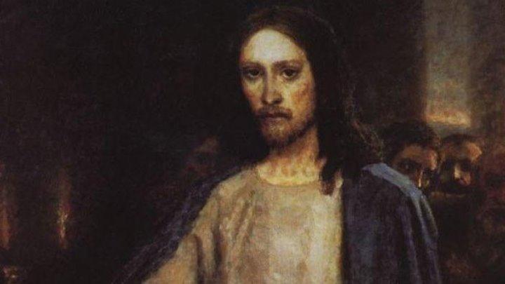 ВАСИЛИЙ СУРИКОВ. Исцеление слепого. Библейский сюжет