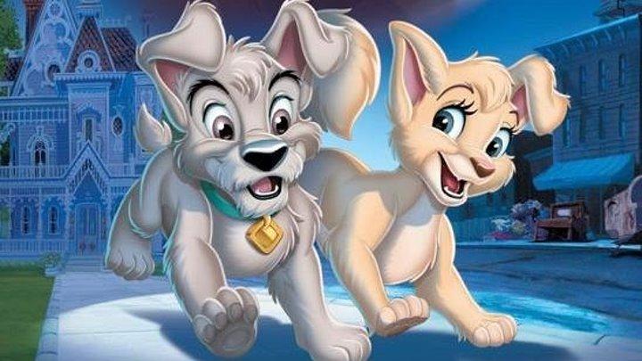 Леди и бродяга 2 Приключения Шалуна (2001) (BDRip-720p) Мультфильм, мелодрама, приключения, семейный DUB