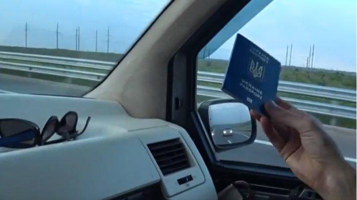 Первый украинец на крымском мосту. ОТКРЫТИЕ Крымского моста и первый проезд