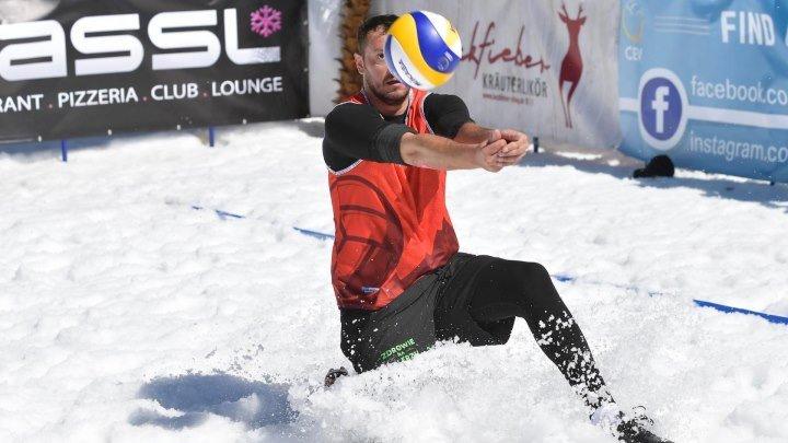 ЧЕ по снежному волейболу 2018. Мужчины. Матч за 3-е место 25 марта 12.20
