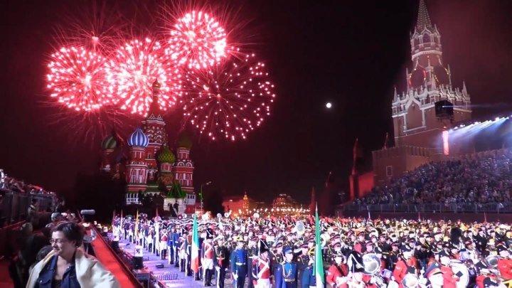 «Спасская башня»: музыкальный фестиваль военных оркестров в Москве. ФАН-ТВ