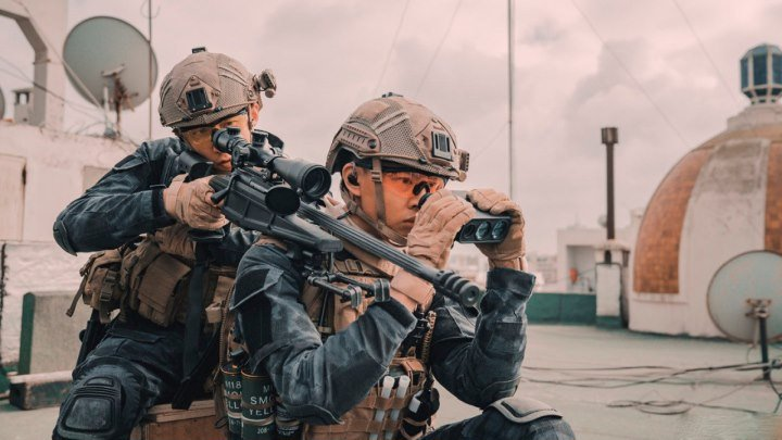 OПEPAЦИЯ B KPACHOM MOPE 2OI8 HD военный, боевик