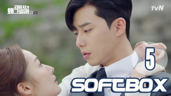 [Озвучка SOFTBOX] Что случилось с секретарем Ким? 05 серия