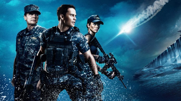 Морской бой (2012).HD.(фантастика боевик)