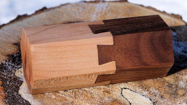 Красивое соединение на ласточкин хвост (мастер-класс от Jack Houweling)