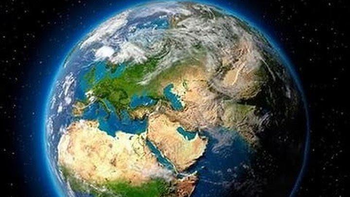 Вид со спутника на землю,это надо видеть всем супер!