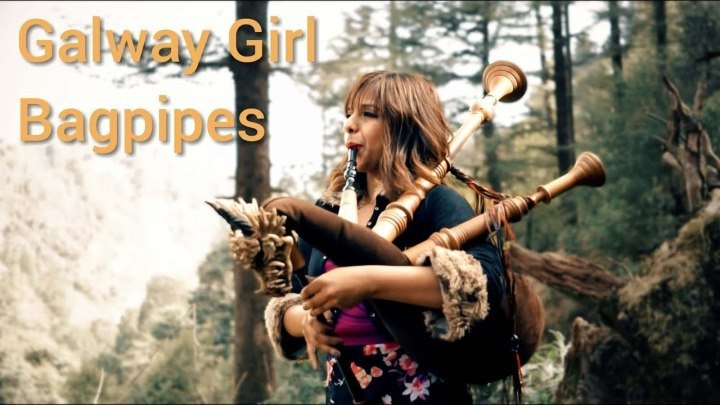 Galway Girl - Ed Sheeran | Bagpipe Cover (The Snake Charmer)