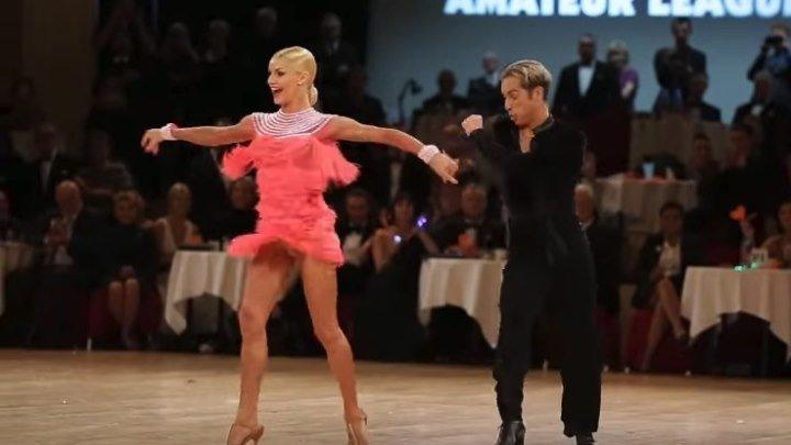 Зажигательный танец! Юлия Загоруйченко и Рикардо Кокки - Samba (Original).