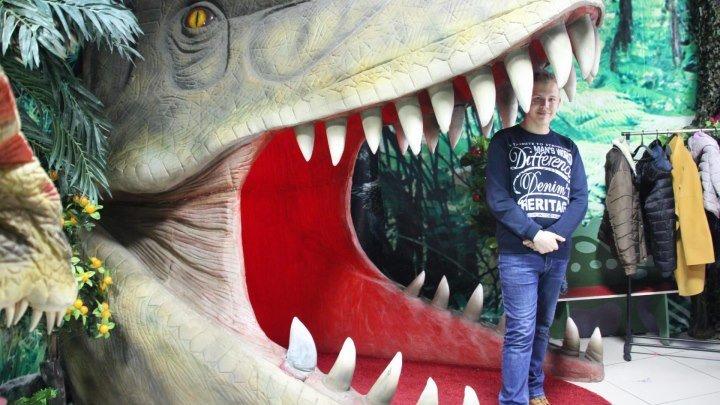 Здесь был Максим 4 сезон 11 выпуск на выставке Динозавров - Jurssik Park