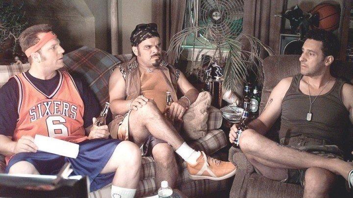 Джек Николсон и Адам Сэндлер в комедии Управление гневом.