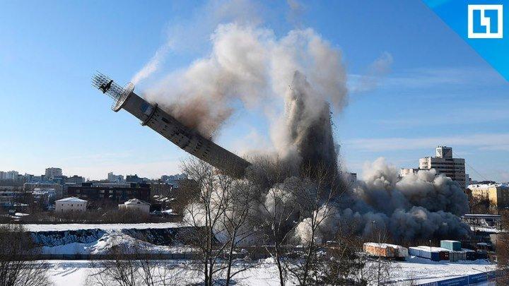 Взрыв телебашни в Екатеринбурге