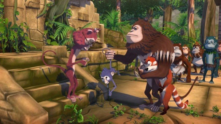 Переполох в джунглях. Мультфильмы приключения.