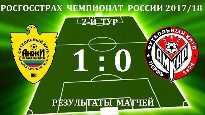 Обзор матча_ РФПЛ. 2-й тур. Анжи - Амкар 1_0