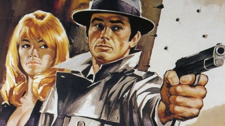 Самурай (гангстерская криминальная драма с Аленом Делоном) | Франция-Италия, 1967