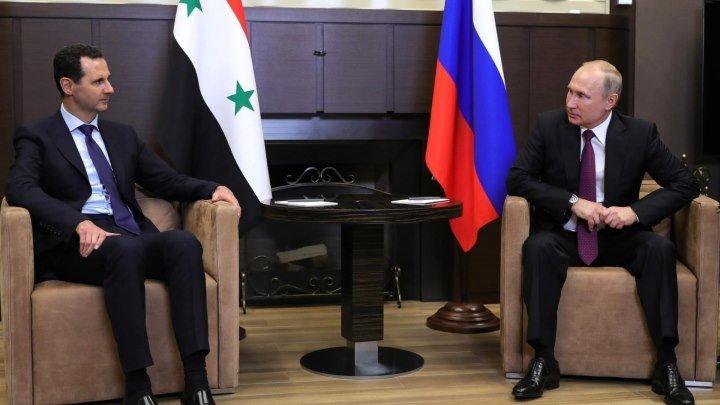 Заявления Путина и Асада по итогам российско-сирийских переговоров