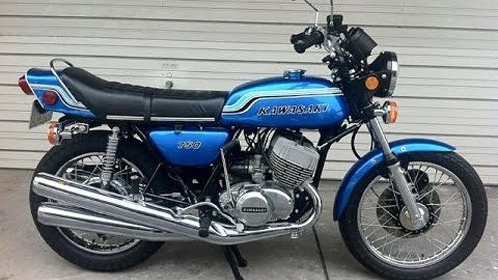 Kawasaki MACH SS750 H2
