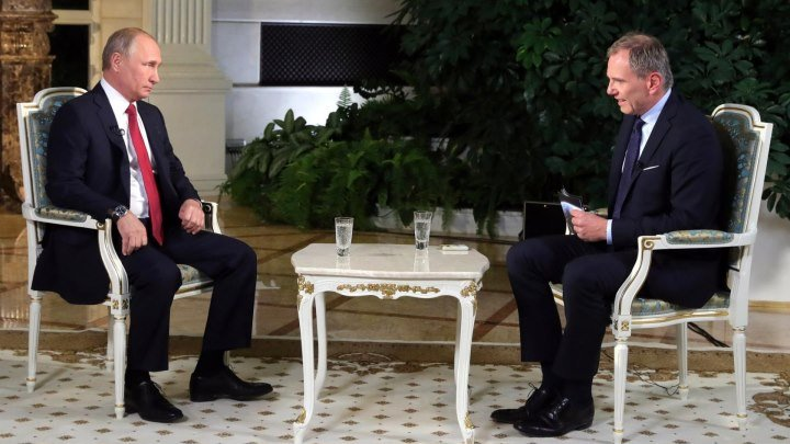Интервью австрийскому телеканалу 04.06.18