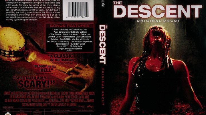 Спуск -1 HD(Ужасы,Триллер,Приключения)2005