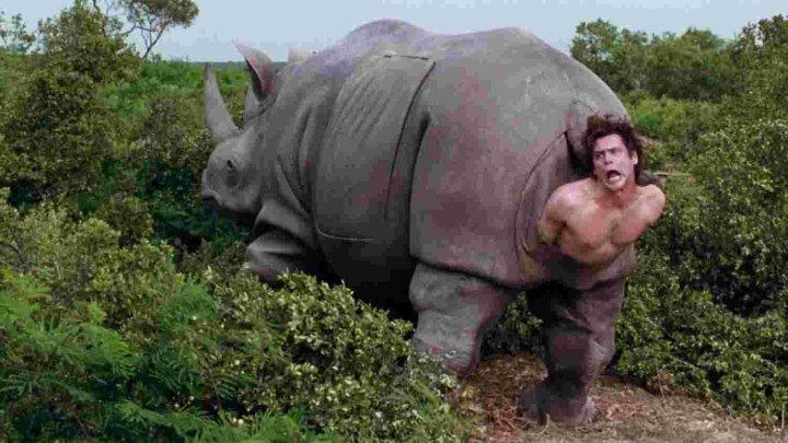 Эйс Вентура 2: Когда зовет природa HD(1995) кинокомедия, детектив