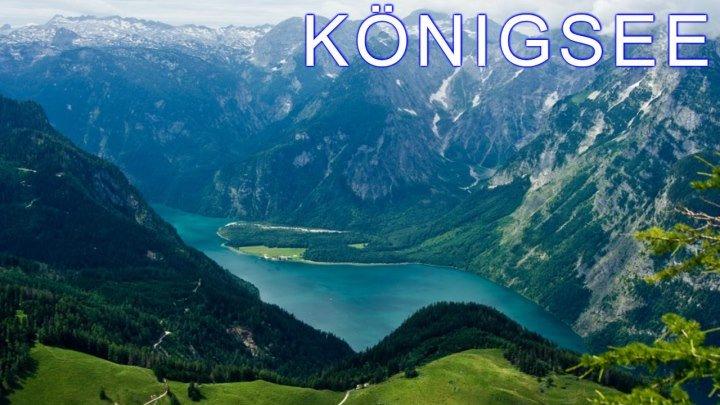 Urlaub in den Alpen. Königsee.