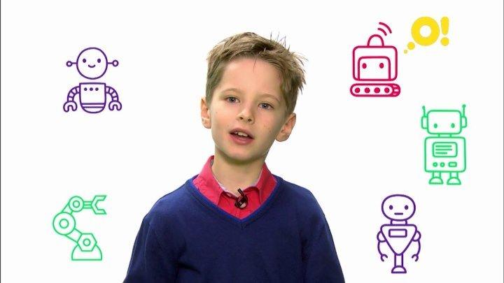 Ваня представляет программу «Роботы» на канале «О!»