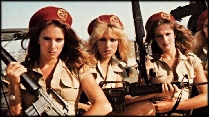 Чертовки / Hell squad / Commando Girls (США 1986) Боевик, Комедия, Приключения