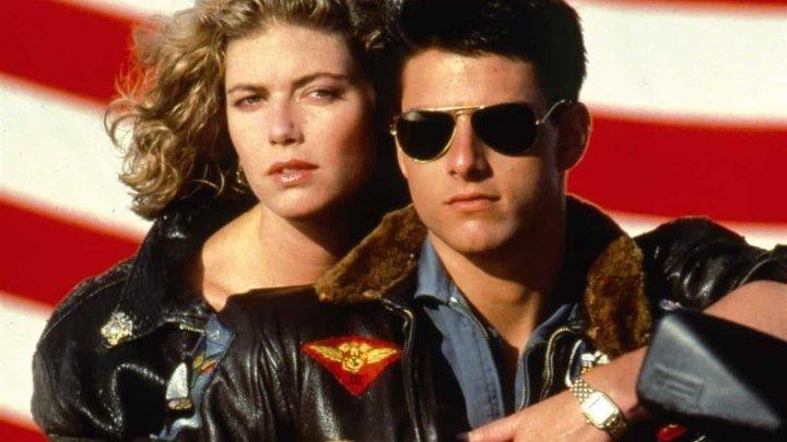Лучший стрелок / Top Gun - (Т.Круз, В.Килмер, боев.,мелодр) 1986