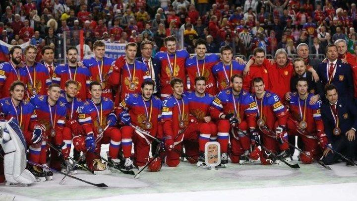 Победа нашей сборной по хоккею 25.02.18. на олимпиаде