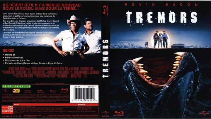 Дрожь Земли -1 BDRip.(1989) 1080p.Ужасы,Комедия