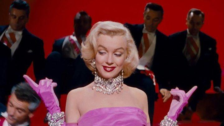Джентльмены предпочитают блондинок - (Мэрилин Монро, мюзикл,комед.) - 1953