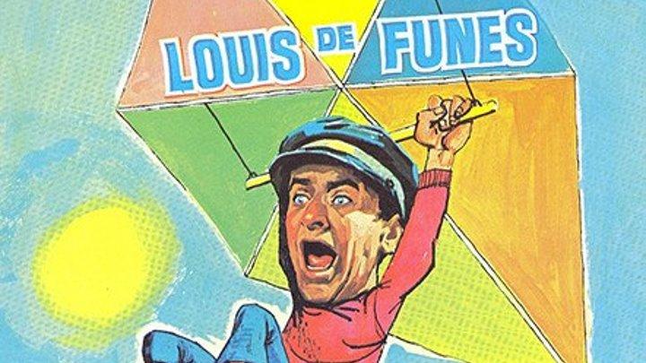 Большие каникулы (1967) комедия (BDRip-720p) MVO (Светла) Луи де Фюнес, Ферди Мэйн, Мартина Келли, Франсуа Леччия, Оливье Де Фюнес, Клоди Жансак, Морис Риш