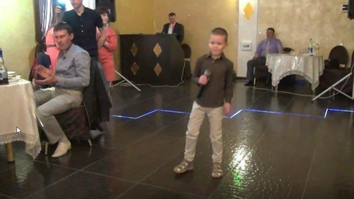"""Мальчик на свадьбе спел """"Невеста"""" Молодец!"""