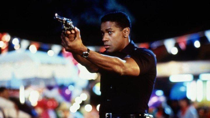 Рикошет (криминальный триллер от режиссера кинохитов «Горец», «Горец 2», «Настоящая МакКой», «Тень» Рассела Малкэхи с Дензелом Вашингтоном и Джоном Литгоу) | США, 1991