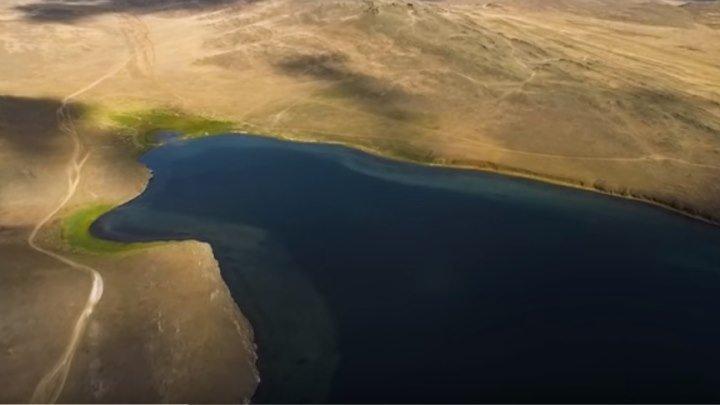 Байкал с высоты птичьего полета. Какая красота!!!