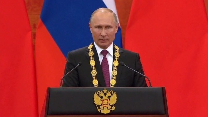 Дружба навек: Путин получил высший орден Китая
