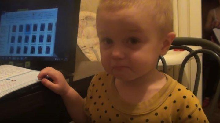 Крошка - малыш жалуется Маме на папу и сестру!