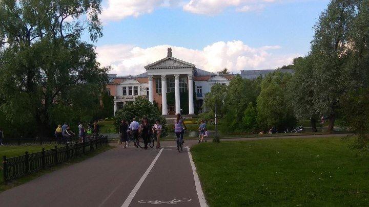 Вело прогулка по Главному ботаническому саду им. Цицина