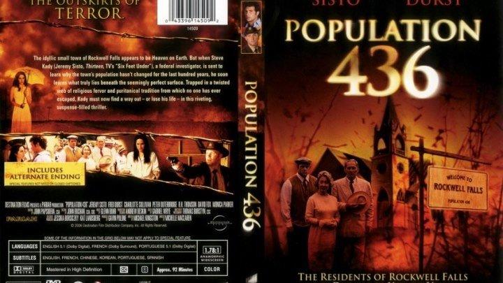 ужасы, триллер-Население 436.(2006).1080p