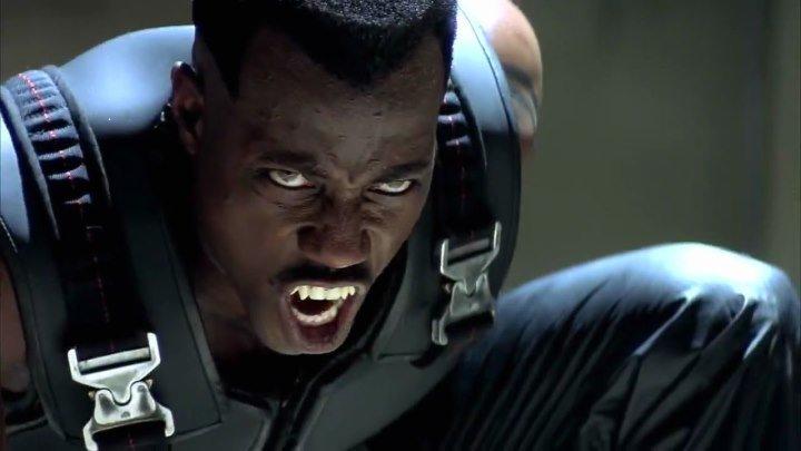 Блэйд HD(1998) фантастический боевик