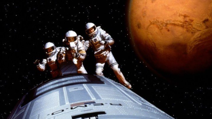 Миссия на Марс. триллер приключения фантастика