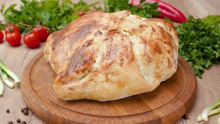 Курица, запеченная в тесте - Рецепты от Со Вкусом