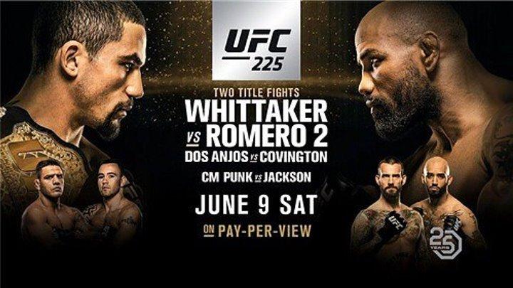UFC 225 Whittaker vs. Romero 2