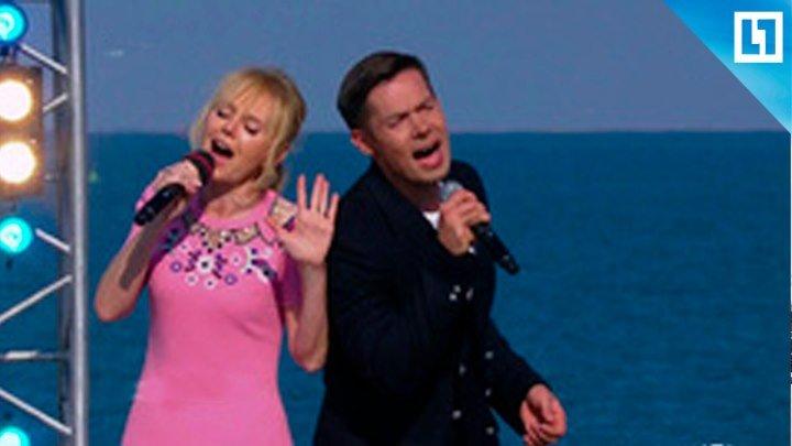 Концерт в честь открытия Крымского моста