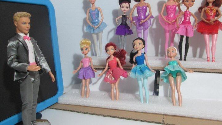 Куклы Барби и Принцессы Диснея Мультфильмы ТВ - Школа музыки для детей и родителей, Урок 1, 20180724