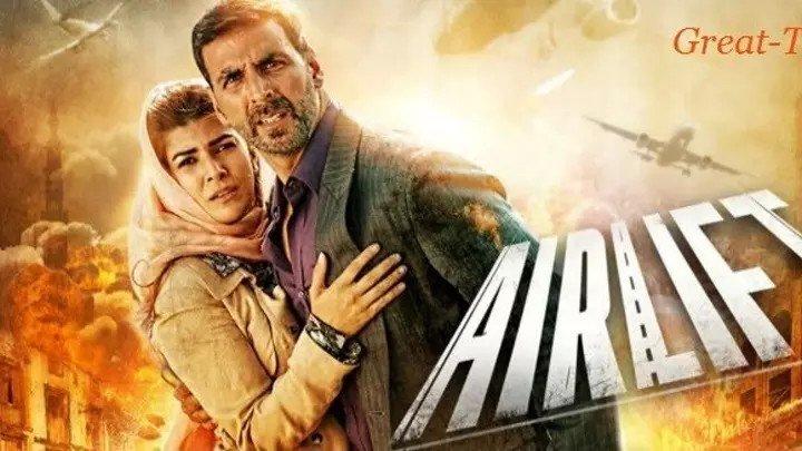 фильм Воздушная перевозка (2016) военный, Индия.